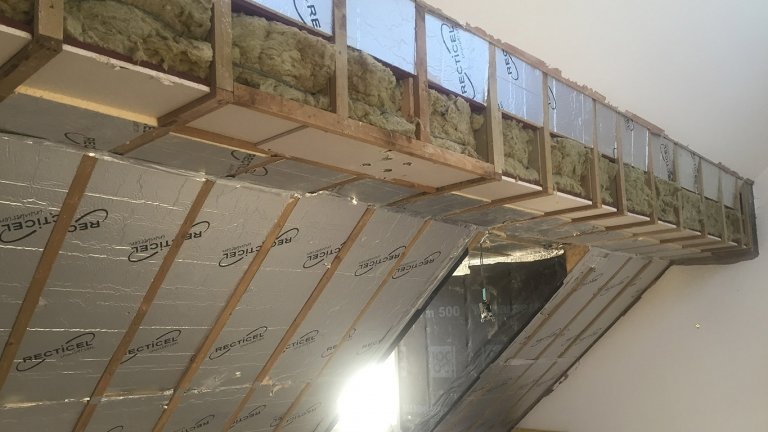 Domestic Bedroom & Ceiling Soundproofing