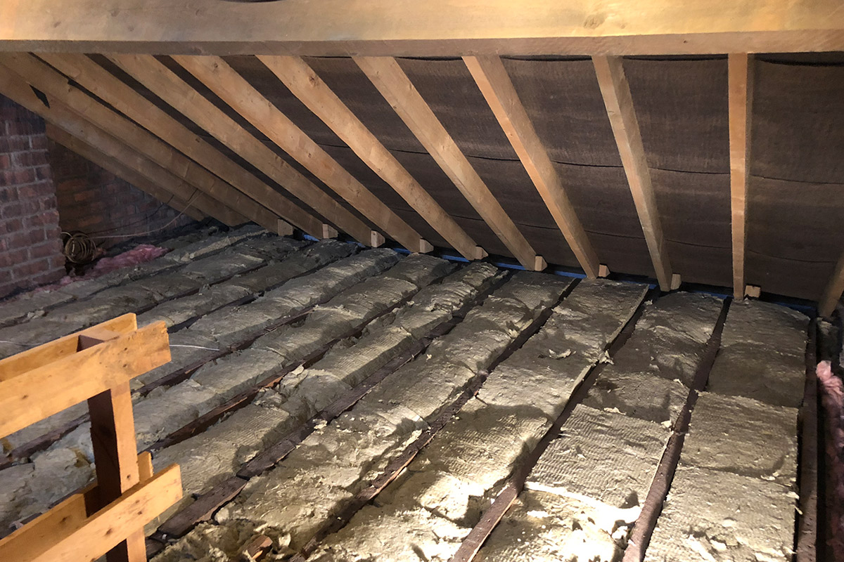 Soundproofing an Attic Studio